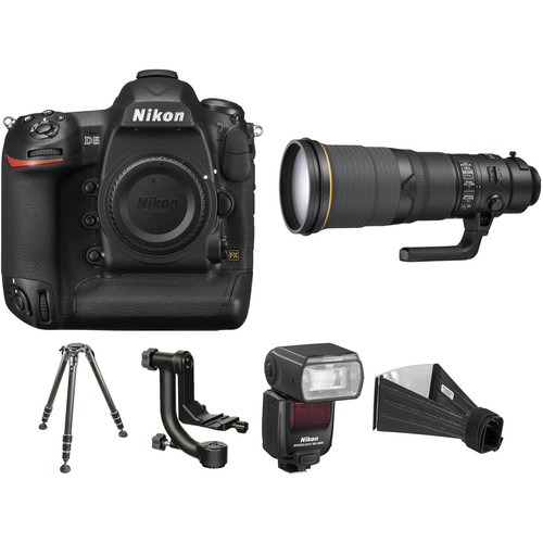 Nikon D5 with 500mm Lens Wildlife Kit