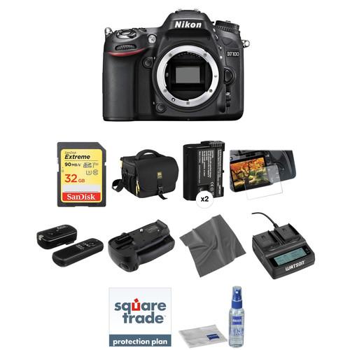 Nikon D7100 DSLR Camera Body Deluxe Kit