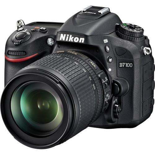 Nikon D7100 DSLR Camera with 18-105mm Lens Deluxe Kit