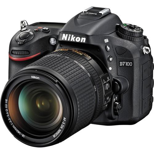 Nikon D7100 DSLR Camera with 18-140mm VR DX Lens