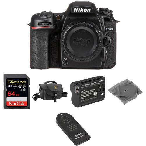 Nikon D7500 DSLR Camera Body Basic Kit