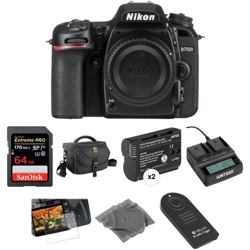 Nikon D7500 DSLR Camera Body Deluxe Kit