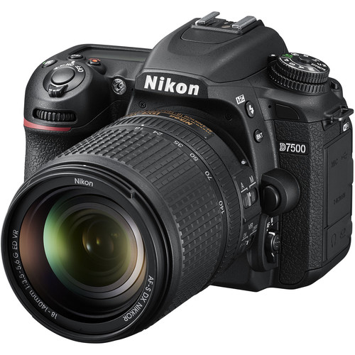 Nikon D7500 DSLR Camera with 18-140mm Lens 1582