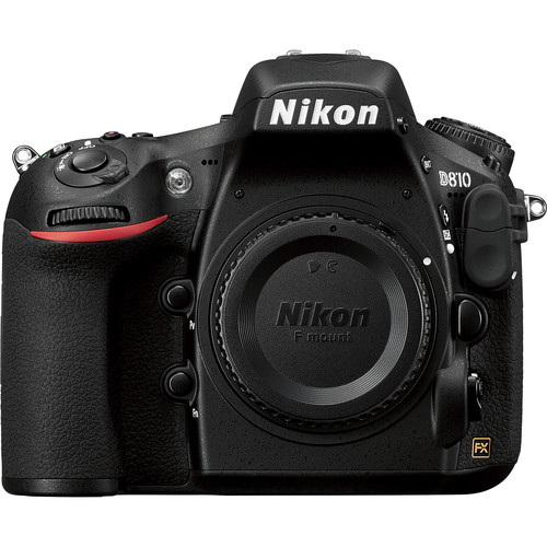 Nikon D810 DSLR Camera Body with 6-Track Field Recorder Kit