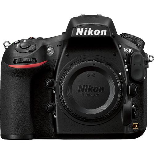 Nikon D810 DSLR Camera Body with Microphone Kit