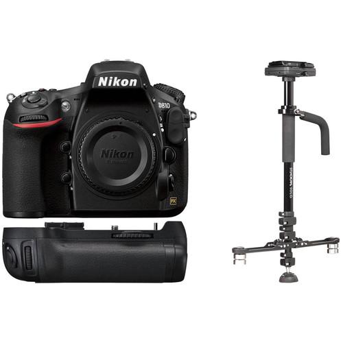 Nikon D810 DSLR Camera Body with Stabilizer Kit