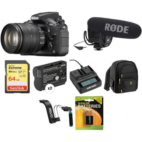Nikon D810 DSLR Camera with 24-120mm Lens Video Kit