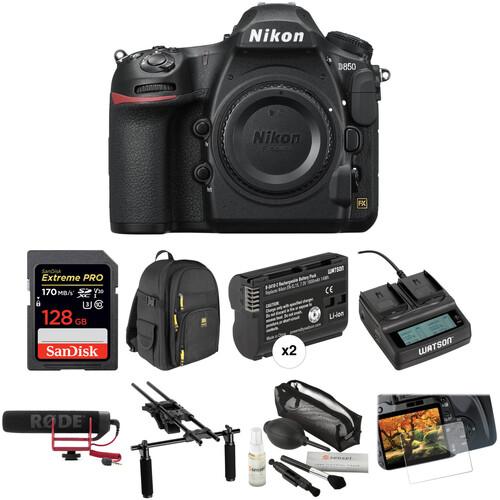 Nikon D850 DSLR Camera Video Kit