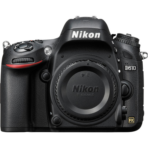Nikon - D610 DSLR Camera (Body Only) - Black