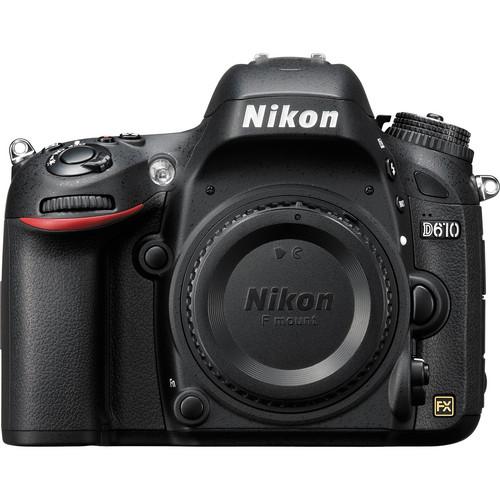 Nikon D610 DSLR Camera Body Deluxe Kit