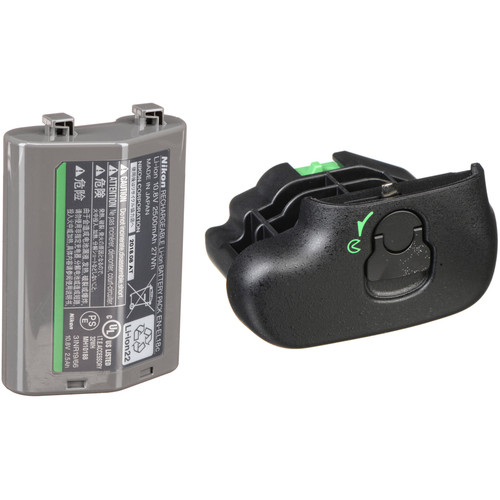 Nikon EN-EL18c Rechargeable Lithium-Ion Battery and BL-5 Cover Kit