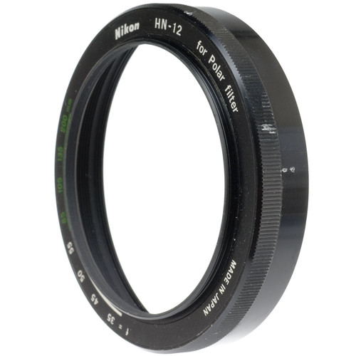 Nikon HN-12 Two-Piece Lens Hood with 60mm Male Thread (Bottom Half Only)
