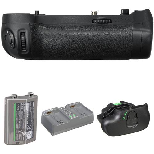 Nikon MB-D18 Multi-Power Battery Pack with EN-EL18b Battery Kit