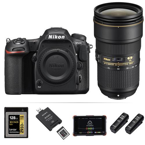 Nikon Moose Peterson Nikon D500 Interview Kit