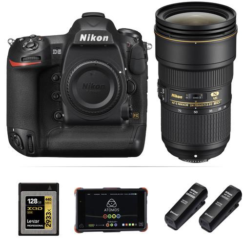 Nikon Moose Peterson Nikon D5 Interview Kit