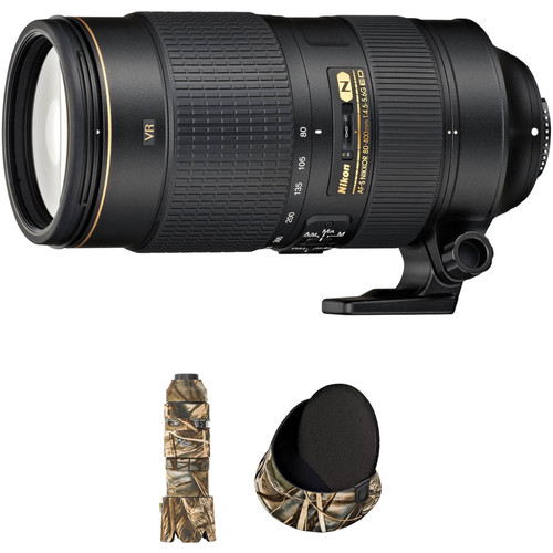Nikon AF-S NIKKOR 80-400mm f/4.5-5.6G ED VR Lens with LensCoat Kit