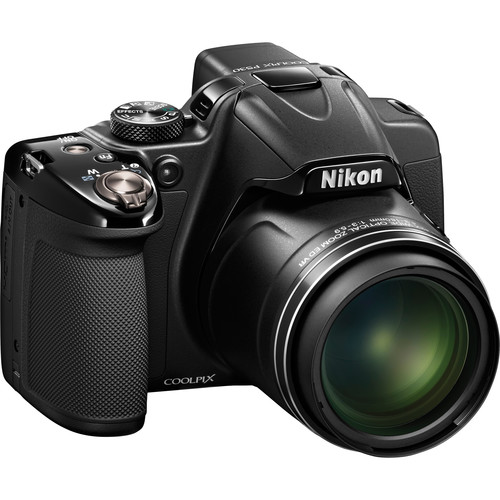 Nikon COOLPIX P530 Digital Camera (Black, Refurbished) Basic Kit