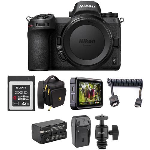 Nikon Z 6 Mirrorless Digital Camera Body HDR Filmmaker Kit