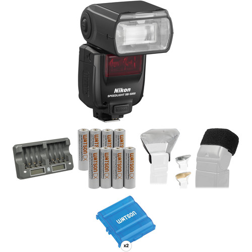 Nikon SB-5000 AF Speedlight Essential Portrait Kit