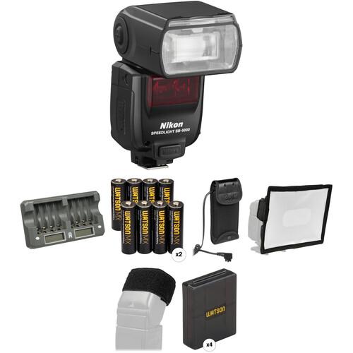 Nikon SB-5000 AF Speedlight Wedding and Event Kit