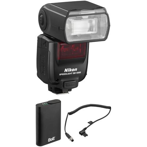 Nikon SB-5000 AF Speedlight with Power Pack Kit