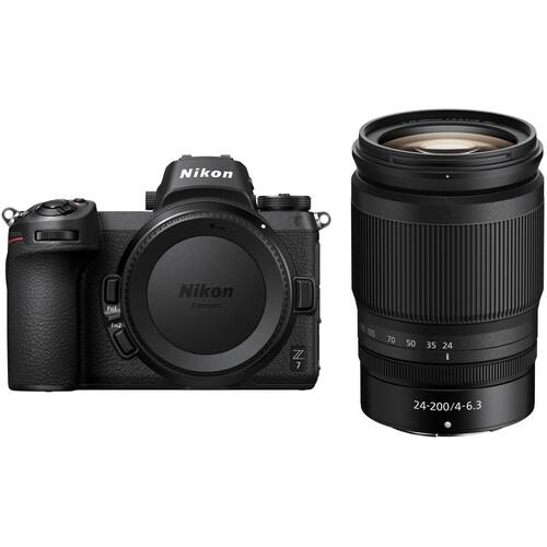 Nikon Z 7 Mirrorless Digital Camera with 24-200mm Lens Kit