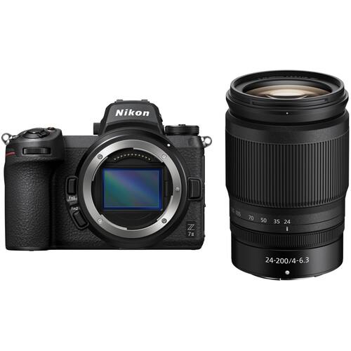 Nikon Z 7II Mirrorless Digital Camera with 24-200mm Lens Kit