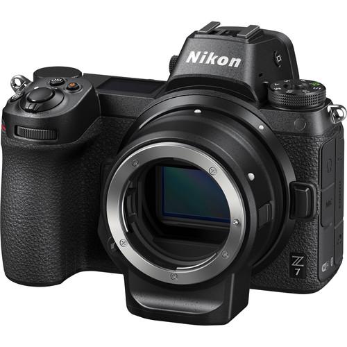 Nikon Z 7 Mirrorless Digital Camera with FTZ Mount Adapter Kit