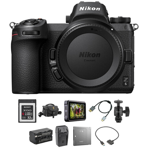 Nikon Z 6 Mirrorless Digital Camera Body Cine Kit