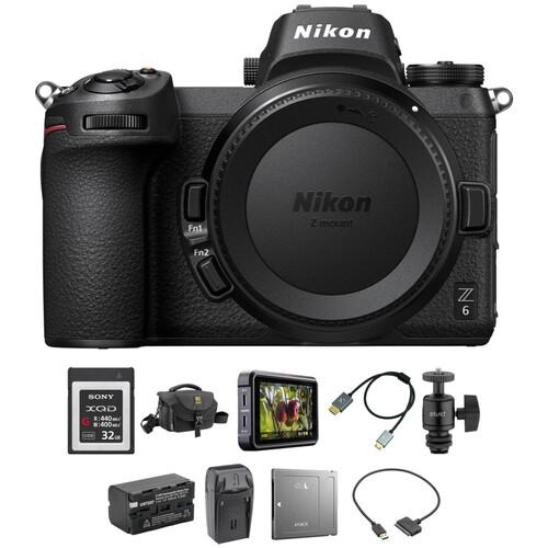 Nikon Z 6 Mirrorless Digital Camera Body Cine Kit