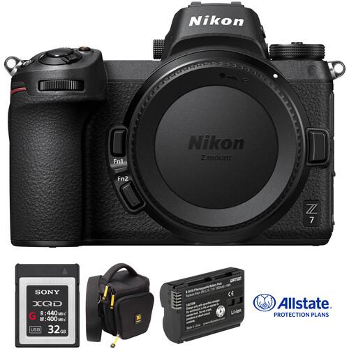 Nikon Z 7 Mirrorless Digital Camera Body Deluxe Kit