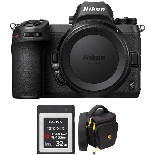 Nikon Z 7 Mirrorless Digital Camera Body with Accessories Kit