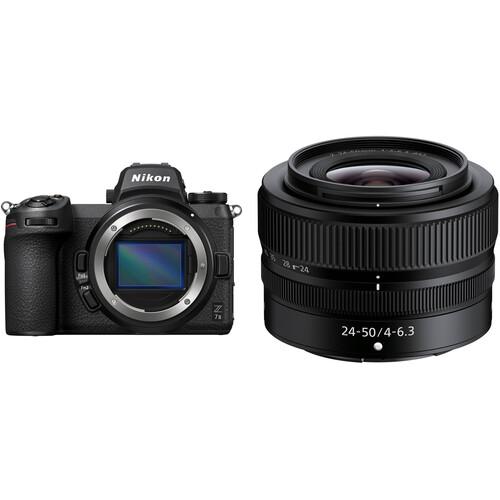 Nikon Z 7II Mirrorless Digital Camera with 24-50mm Lens Kit