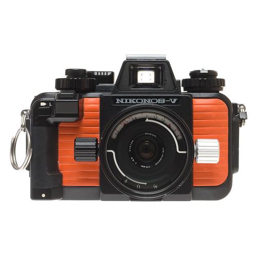 Nikonos V Body (Orange) with 35mm f2.5