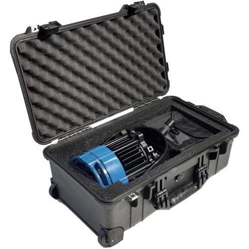 Nila Pelican 1510 Wheeled Case with Custom Foam Insert for Varsa (Black)