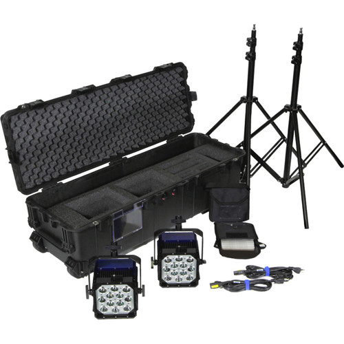 Nila Varsa Double Tungsten ENG Kit with V-Mount Battery Plates