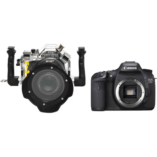 Nimar 3D Transparent Underwater Housing with Canon EOS 7D DSLR Camera Body Kit