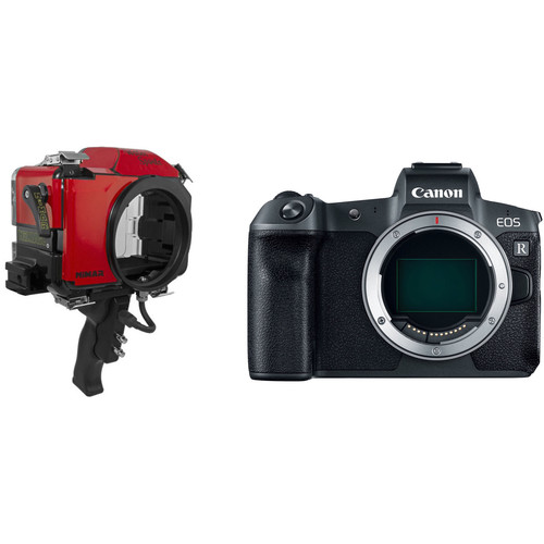 Nimar Base Water Sports Housing and Canon EOS R Mirrorless Camera Body Kit