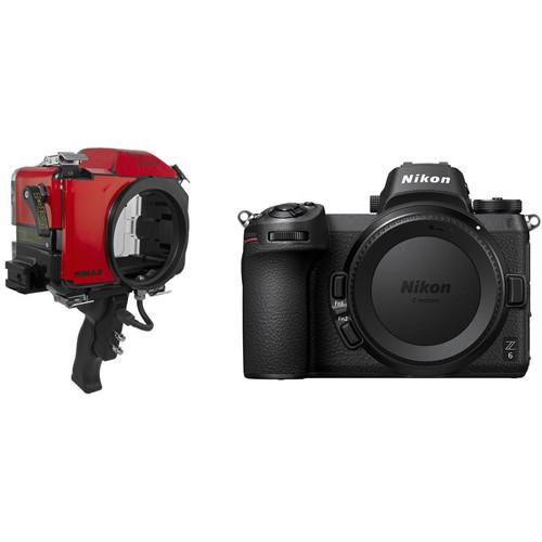 Nimar Base Water Sports Housing and Nikon Z 6 Mirrorless Camera Body Kit
