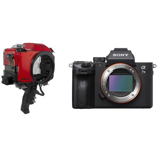 Nimar Base Water Sports Housing and Sony a7 III Mirrorless Camera Body Kit