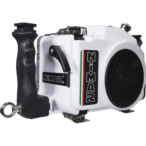 Nimar Underwater Housing for Canon EOS Rebel T6 or T7 (White)