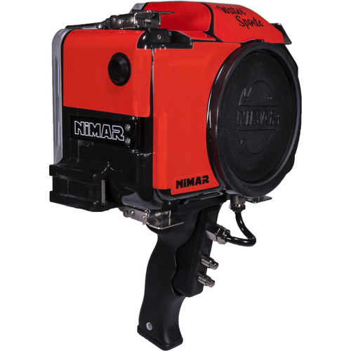 Nimar Base Water Sports Camera Housing with Pistol Grip for Canon EOS Rebel T6 and T7