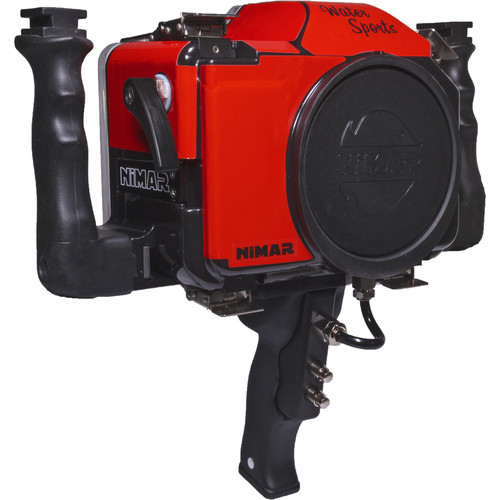 Nimar Water Sports Housing for Canon Rebel T6 and T7 with Side Handles and Pistol Grip (No Port)
