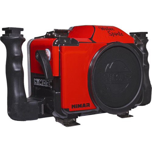 Nimar Water Sports Camera Housing for Canon EOS Rebel T6 and T7 (Side Grips)