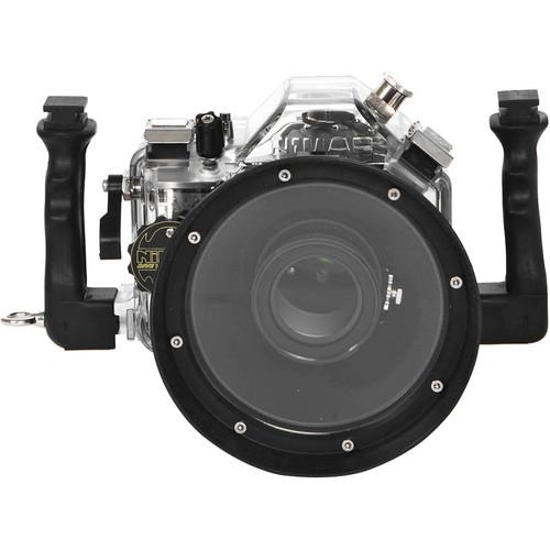 Nimar Underwater Housing for Nikon D600 DSLR Camera with Lens Port for AF-S DX Nikkor 24-120 mm f/3.5-5.6G ED VR