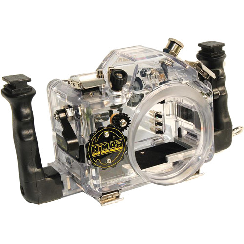 Nimar 3D Underwater Housing for Nikon D610 DSLR Camera with Port for 24-120mm f/3.5-5.6G Lens