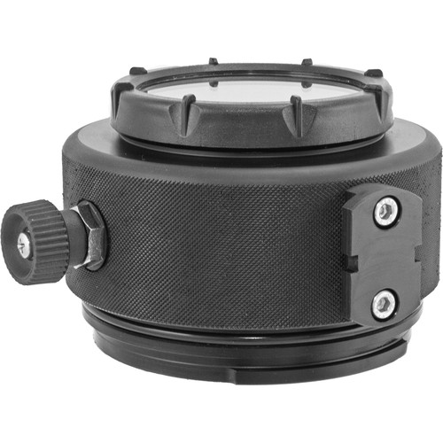 Nimar Flat Port with Zoom Gear for DX Nikkor 18-55mm f/3.5-5.6G ED VR and Micro-Nikkor 60mm f/2.8