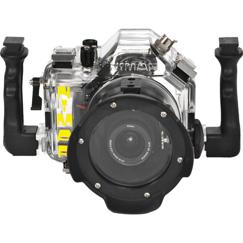 Nimar Underwater Housing for Nikon D3000 DSLR Camera with Lens Port for Nikkor 18-55mm VR