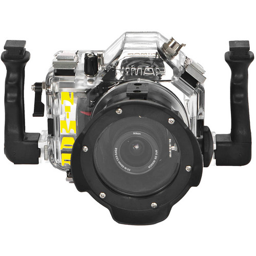 Nimar Underwater Housing for Nikon D5100 DSLR Camera with Lens Port for AF-S DX Nikkor 18-105mm f/3.5-5.6G ED VR
