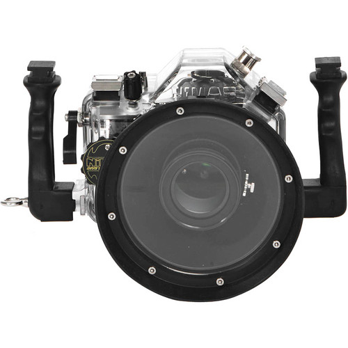 Nimar Underwater Housing for Nikon D600 DSLR Camera with Lens Port for AF-S Nikkor 24-85 mm f/3.5-4.5G ED VR
